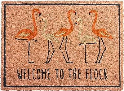 Karma Gifts, Flamingo Welcome Mat