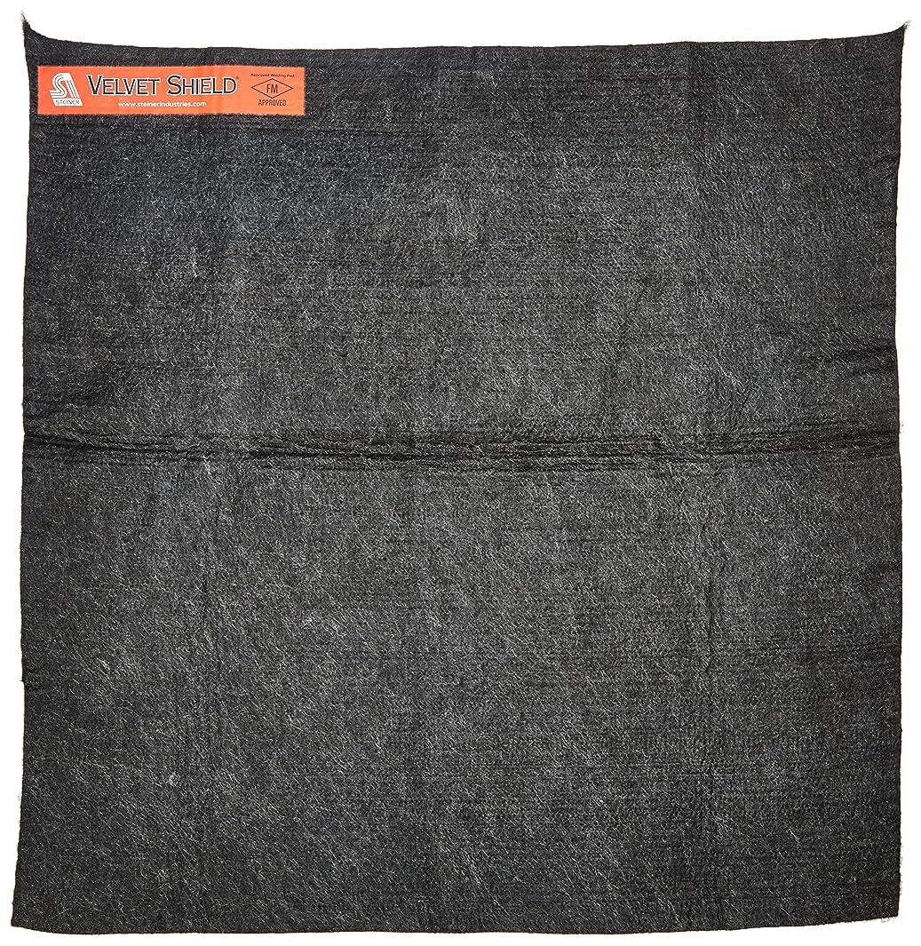 Steiner 316-18X18 Velvet Shield 16-Ounce Black Carbonized Fiber Welding Blanket, 18