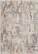 """Nourison Rustic Textures Beige/Grey Area Rug 3'11"""" x 5'11"""" X5'11"""