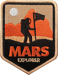 Space Patch - Mars Explorer Iron on Patch/NASA Patch