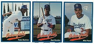 1991 Bakersfield Dodgers Team Set Mike Piazza Pedro Martinez Raul Mondesi