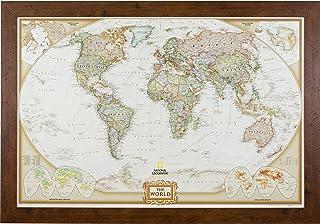 Best Craig Frames Wayfarer, Executive World Push Pin Travel Map Review