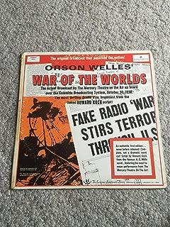 War of the Worlds-original Broadcast