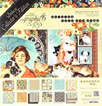 Graphic 45 Raining Cats & Dogs—Deluxe Collector's Edition Paper Pack, Multi
