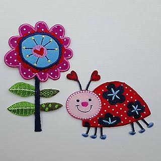 TrickyBoo Tallo De La Flor 7X11Cm Mariquita 9X7Cm