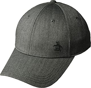 Original Penguin Men's Herringbone A-Flex Baseball Cap