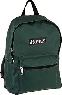 Everest Luggage Basic Backpack, Dark Green, Medium