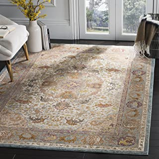 Safavieh Aria Collection Abstract Area Rug, 9' x 12', Beige/Orange