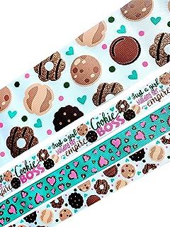 Lulu's Bowtique Supply Hair Bow Making Kit, DIY hair Bow, Cookie Boss, Ribbon Kit
