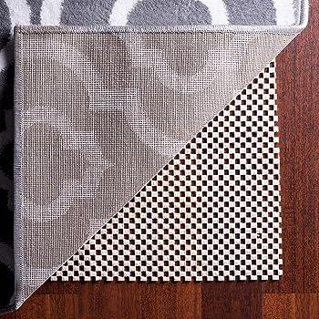 Amazon Com Aurrako Non Slip Rug Pads Extra 6x9 Ft Thick Gripper For Hardwood Floors Rug Gripper For Carpeted Vinyl Tile And Any Hard Surface Floors Under Area Rugs Runner Anti Slip Non Skid Carpet