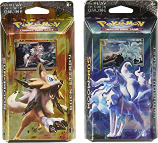 Pokemon Both TCG Sun & Moon Burning Shadows Theme Decks - Ninetales & Lycanroc