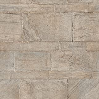 NuWallpaper NU2237 Beige Sandstone Wall Peel and Stick Wallpaper