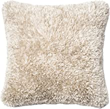 """Loloi Loloi -DSETP0045WH00PIL3- White Decorative Accent Pillow 100% Polyester Cover and Down Fill 22"""" X 22"""", DSETP0045WH00..."""