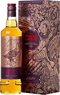 The Famous Grouse The 16 Years Old Double Matured Blended Scotsch Whisky mit Geschenkverpackung 1 x 0.7 l