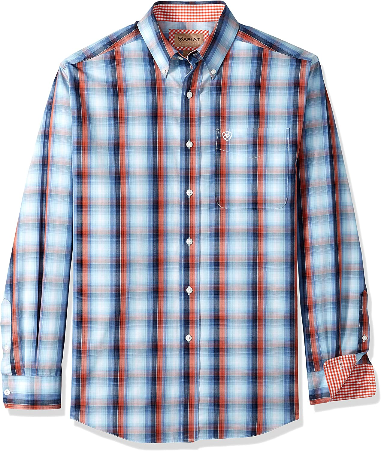 Ariat Men's Big and Tall Classic Fit Wrinkle Free Shirt
