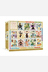Women in Art Puzzle: Fearless Creatives Who Inspired The World 500-Piece Jigsaw Puzzle and Poster: Jigsaw Puzzles for Adults and Jigsaw Puzzles for Kids (Women in Science) Game