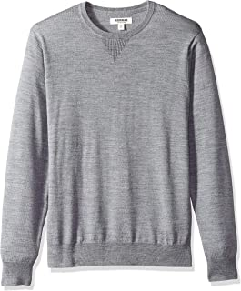 Amazon Brand - Goodthreads Men's Lightweight Merino Wool Crewneck Sweater