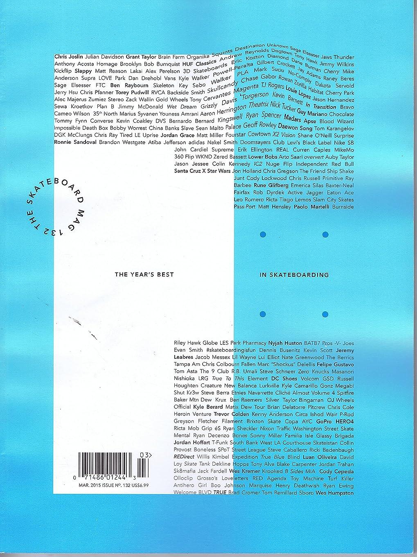 きらめく広々としたショルダーSkateboard Mag [US] March 2015 (単号)