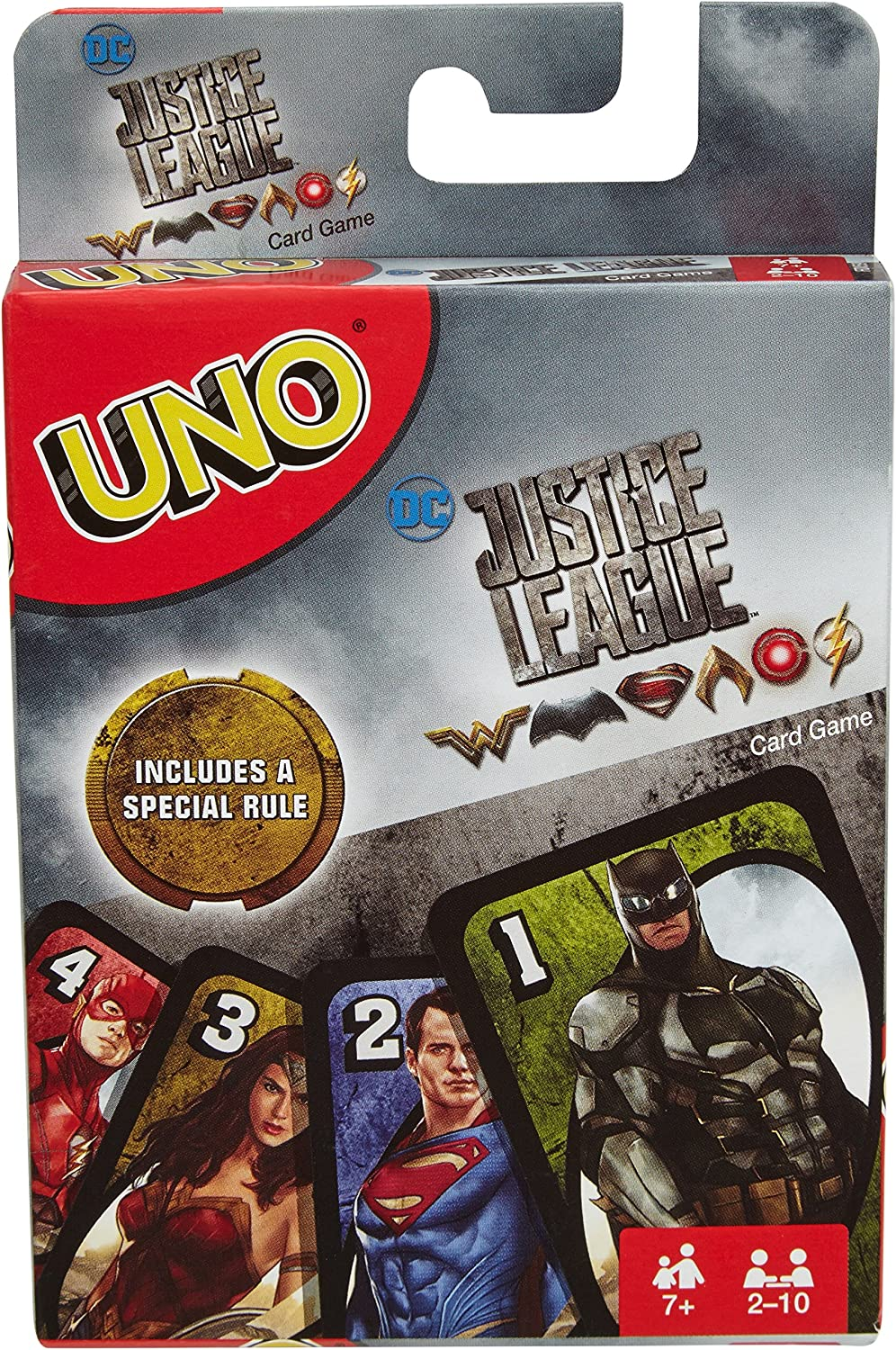 UNO DC Justice League Card Game