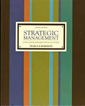 Strategic Management: Formulation, Implementation, and Control