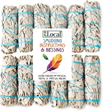 """White Sage Smudge Sticks 4"""" Inch Smudging Wands 