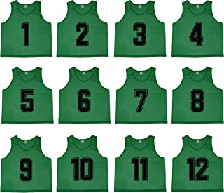 Oso Athletics Sets of 12 (1-12, 13-24, 25-36) Premium Mesh Numbered Jerseys