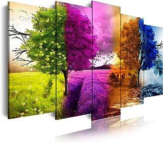 DekoArte 512 - Impression Sur Toile Moderne D'Images Artistiques Numérisées | Toile Décorative Pour Votre Salon Ou Votre C...
