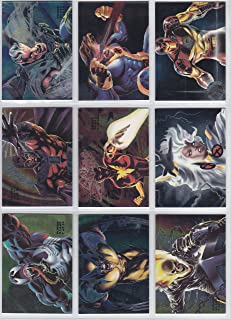 1994 Marvel Flair Inaugural Ed. POWERBLAST Insert Set of 18 Cards NM/M X-Men, Spider-Man