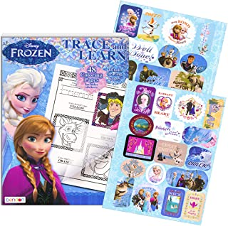 Frozen Colouring Book Trace and Learn Activity Book with Stickers