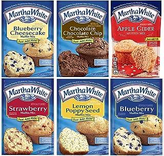 Martha White Muffin Mix Variety Sampler Pack Six Mixes Breakfast Snacks Sweet Treats