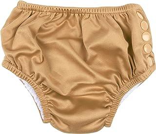 Leveret Baby Boys Girls Snap Reusable Absorbent Swim Diaper UPF 50+ (Size 3 Months-3 Toddler)