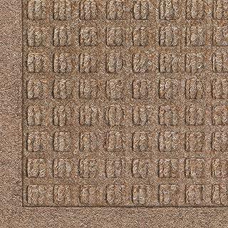 WaterHog Fashion Commercial-Grade Entrance Mat, Indoor/Outdoor Charcoal Floor Mat 4' Length x 3' Width, Medium Brown by M+A Matting