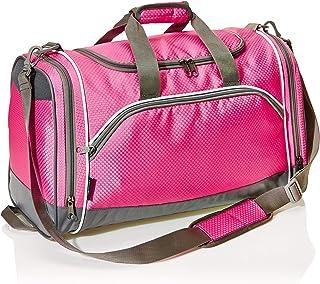 حقيبة دافل رياضية من امازون بيسكس - صغير، زهري
