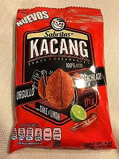 Sabritas Cacahuates Peanuts Chile & Limon(171g) Kacang New Bag 3-pack