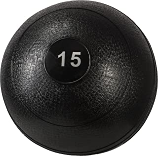 Triangle Sale Slam Ball Dead Weight - Easy-Grip Surface - Ultra-Durable Rubber Shell Great for Exercise Weight Crossfit Workout, Strength & Squats, Lunges, Cardio, Wall Exercises (10, 15, 20 lbs)