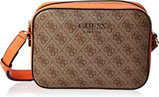 Guess Womens Cross-Body Handbag, Orange Multi - SK669112