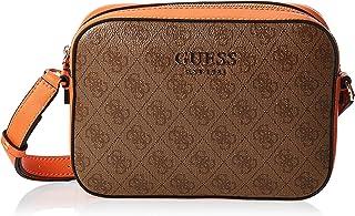Guess Womens Cross-Body Handbag, Orange Multi - SK669112