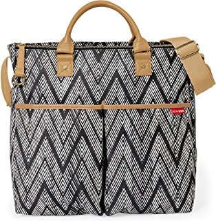 Skip Hop Duo Special Edition Diaper Bag, Zig Zag Zebra