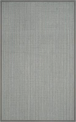 Safavieh Natural Fiber Collection NF477A Premium Sisal Area Rug, 5' x 8', Ivory Blue / Grey