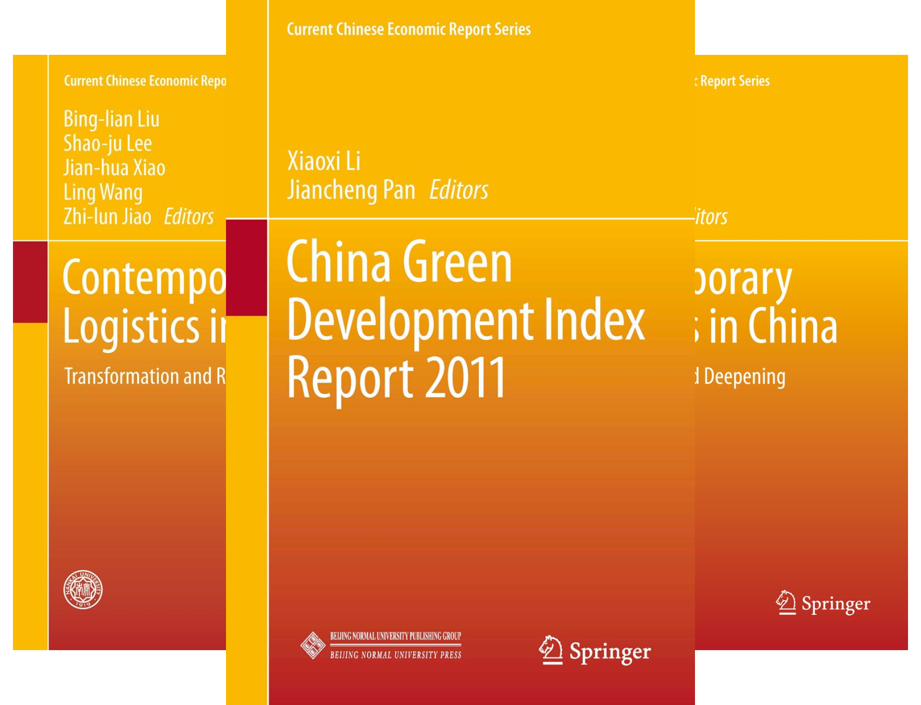 Current Chinese Economic Report Series (38 Book Series)