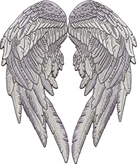 angel wings patch large