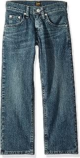 Lee Big Boys' Husky Premium Select Straight Leg Jeans, Caliber, 14