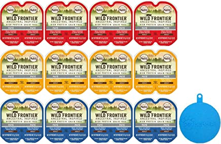 Nutro Wild Frontier Perfect Portions High Protein Grain Free Cat Food Pate in 3 Flavors –