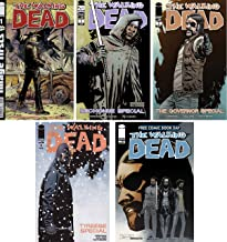 The Walking Dead #1 Image Firsts + Michone, Governers, Tyrese and FCBD Specials - Bundle of Five (5) Image Comics
