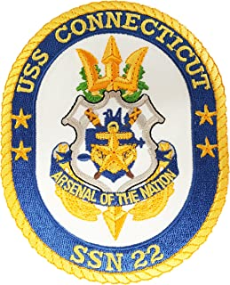 USS Connecticut SSN-22 Patch