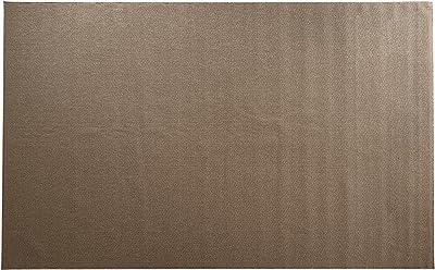 スミノエ(Suminoe) オーダーラグ ブラウン 幅260cm×長さ175cm PPミックスループ 防炎 防ダニ