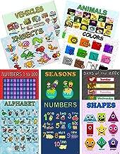 17x23 Laminated Preschool Posters (11x17 Set)