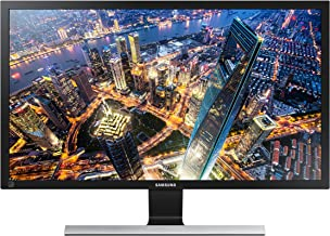 Monitor, Samsung, U28E590D, Ultra HD 4K Preto com Base Metá