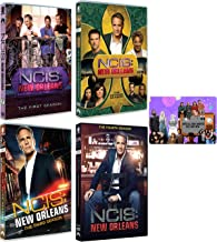 NCIS New Orleans: TV Series Complete Seasons 1-4 DVD Collection with Bonus Art Card