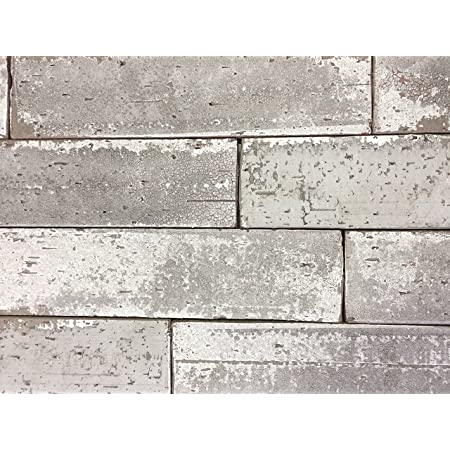BOX OF 10 2.5x9.5 Vanilla High Glossy Glazed Extruded Brick Wall Field Tile